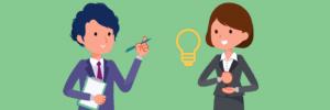 キャリアアドバイザーから履歴書の添削や面接対策を受けるゆり