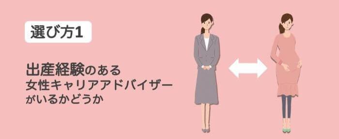 女性転職エージェント選び方